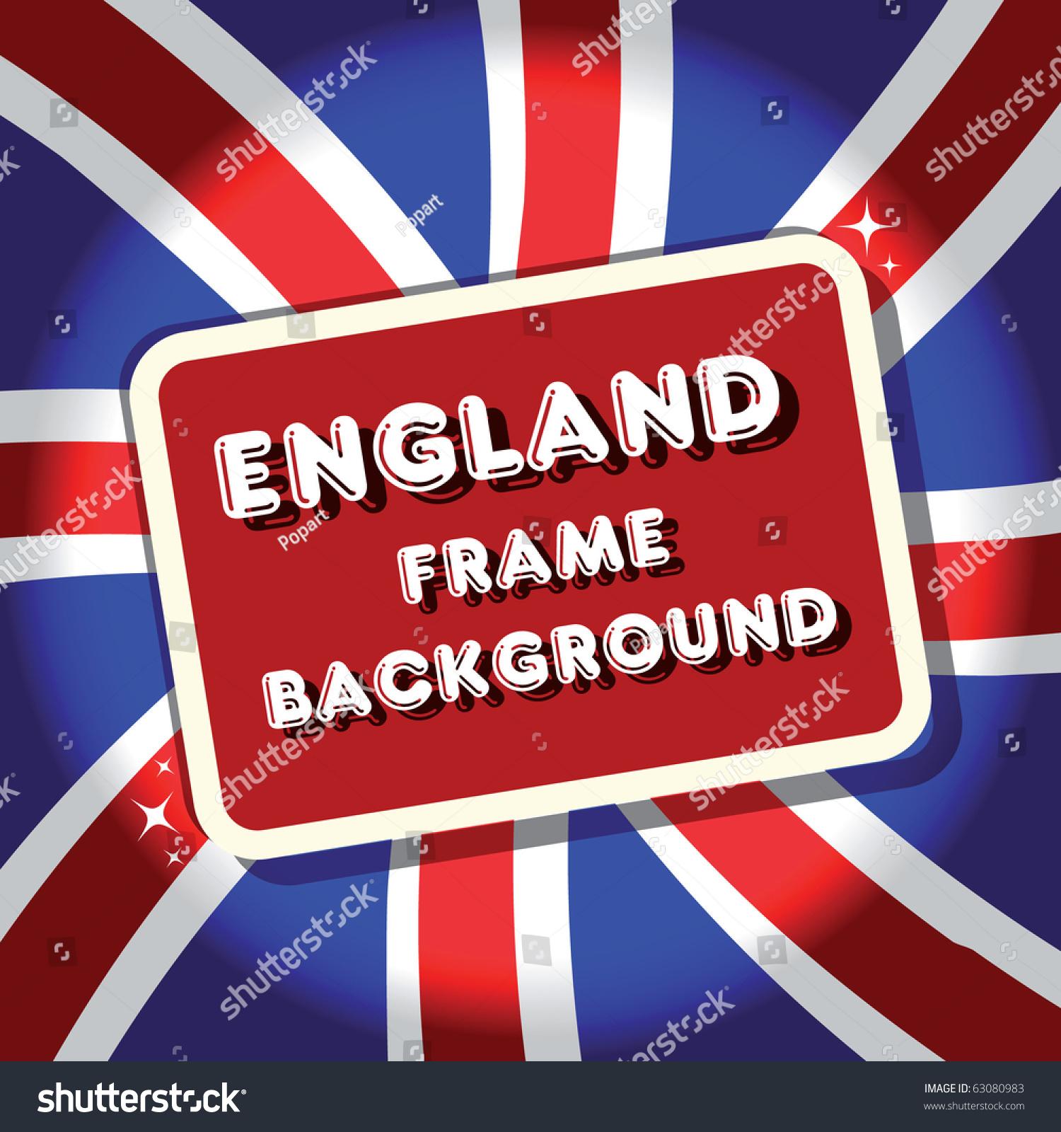 england british flag background frametamaravector collection stock