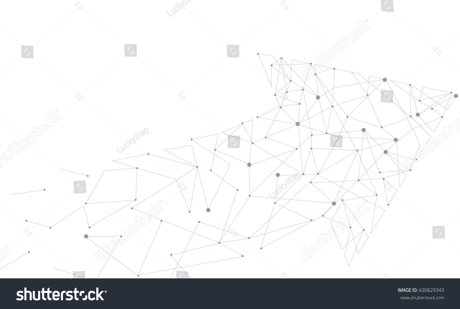 Abstract moving background white dots connected on fresh green stock - Abstract Gray White Background Arrow Pointer Motion Up Neutral Connected Dots Template Success Business
