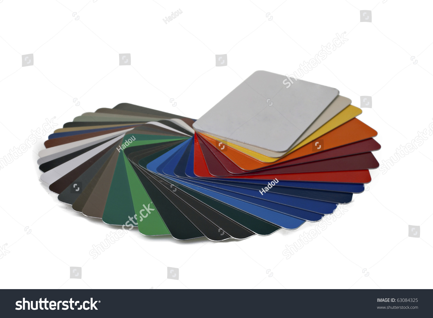 Sample Metal Ral Color Chart Photo 63084325 Shutterstock – Sample General Color Chart