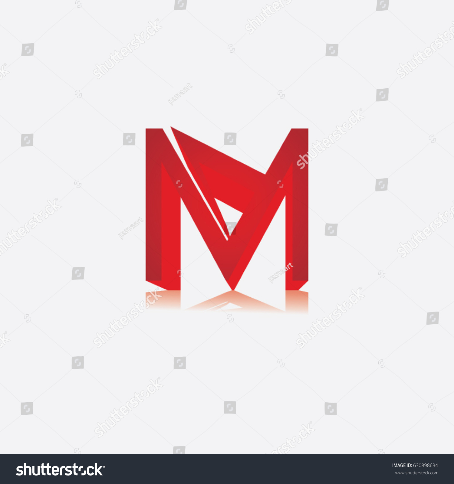 letter m logo stock vector image 63388199 letter m icon logo stock vector 630898634 822