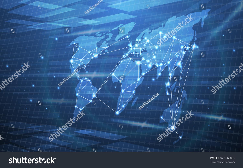 Ultra hd abstract world map technology vector de stock631063883 ultra hd abstract world map technology vector de stock631063883 shutterstock gumiabroncs Images