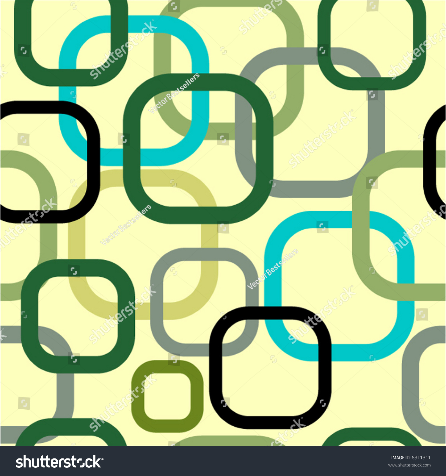 seamless vector texture with rounded rectangles you can