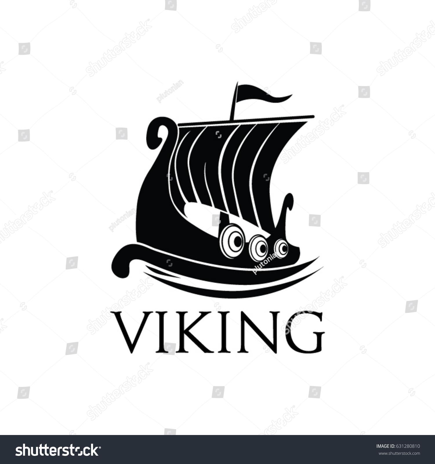 Viking ship logo symbol illustration stock vector 631280810 viking ship logo symbol illustration buycottarizona