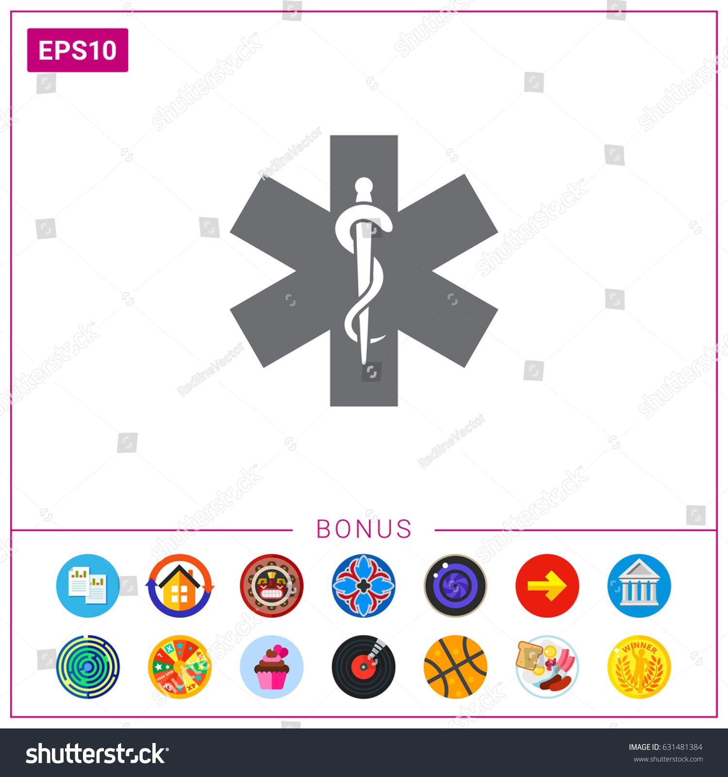 Medical Emergency Symbol Stock Photo Photo Vector Illustration