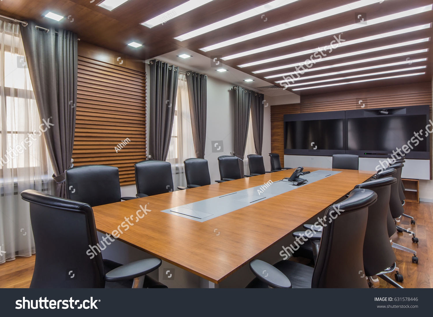 office meeting rooms. Interior Of A Modern Office Meeting Room With Wide Screen TV Rooms