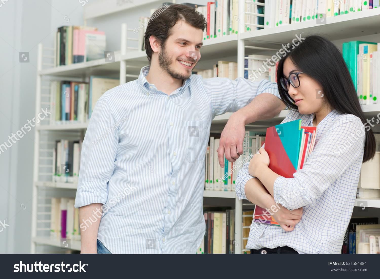 asian girl flirting