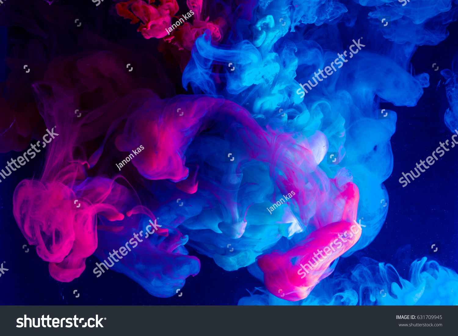 Motion Color drop in water,Ink swirling in ,Colorful ink abstraction.Fancy Dream Cloud of ink under water #631709945 - 123PhotoFree.com