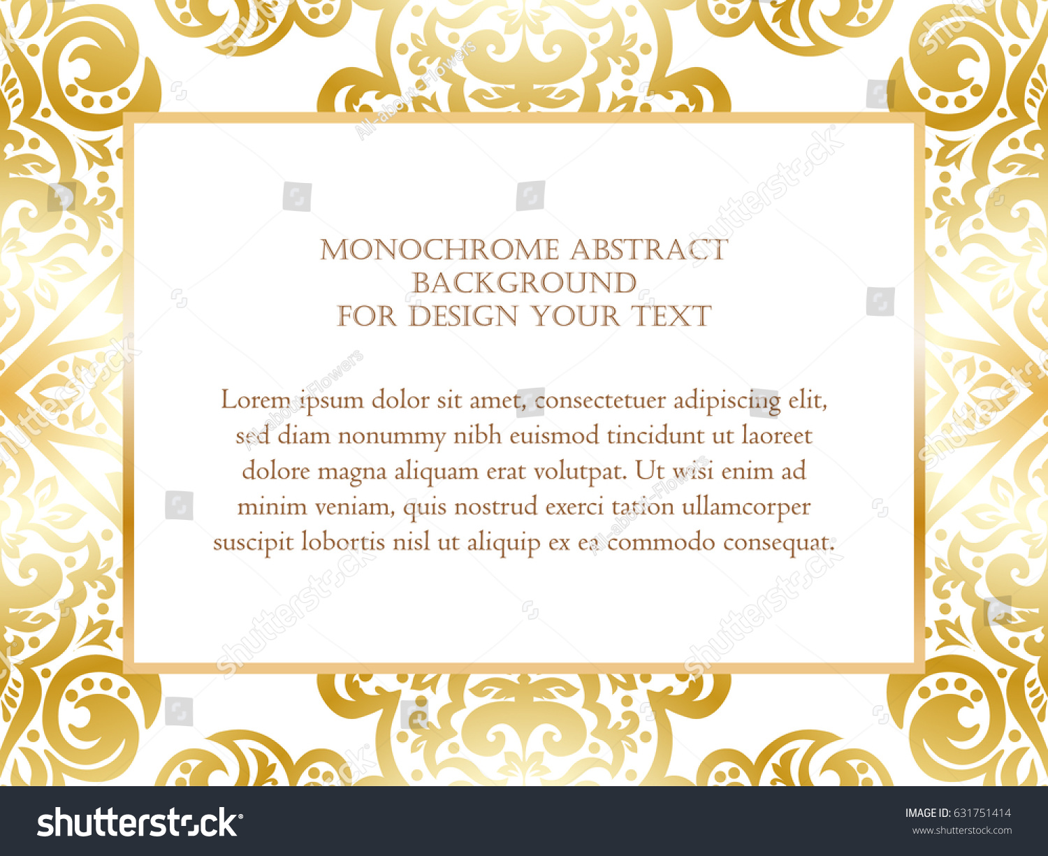 Abstract invitation background design your text stock vector abstract invitation background for design your text stopboris Image collections