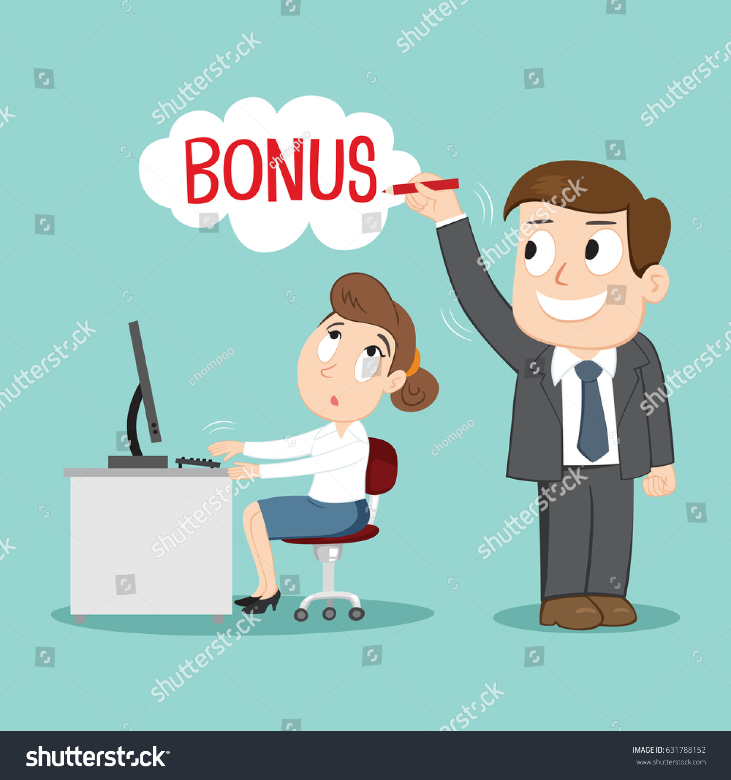 About bonuses for work