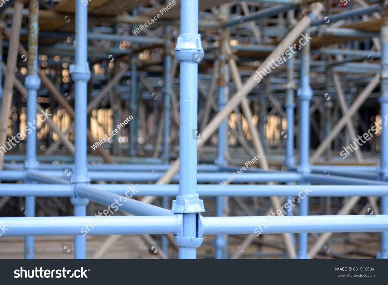 Bridge Support Structure Piping Dubai United Stock Photo (Edit Now