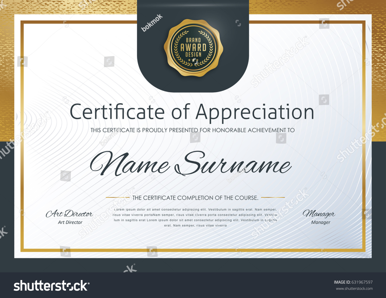 certificate template luxury patterndiplomavector illustration  certificate template luxury pattern diploma vector illustration