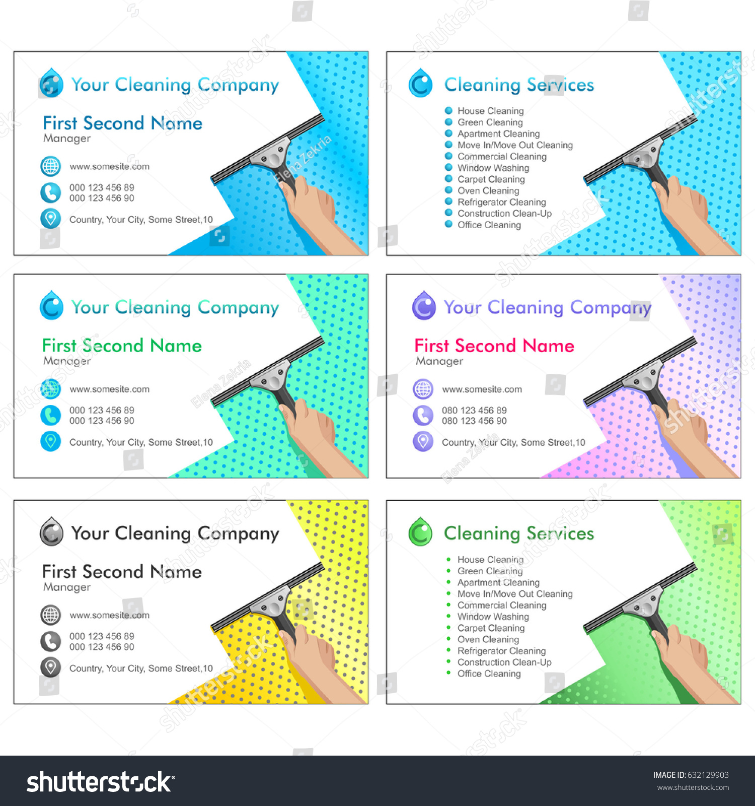 Great Carpet Cleaning Business Cards Photos - Business Card Ideas ...