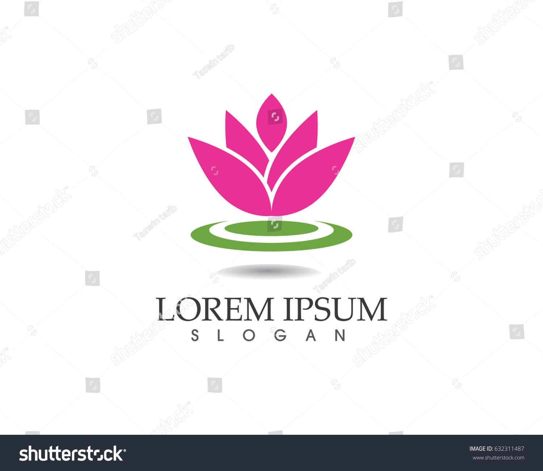 Lotus flower spa logo ez canvas id 632311487 izmirmasajfo