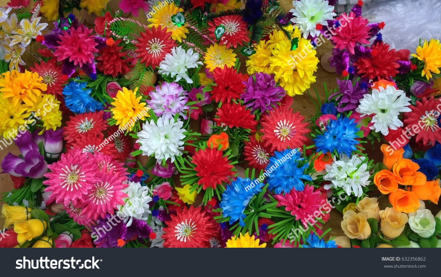 Colorful Flowers Stock Photo (Royalty Free) 632356862 - Shutterstock