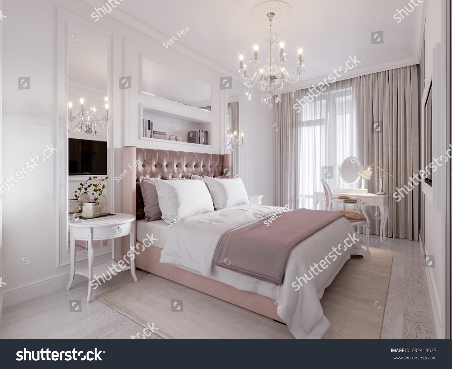 classic modern bedroom spacious bright modern contemporary classic bedroom stock 11137