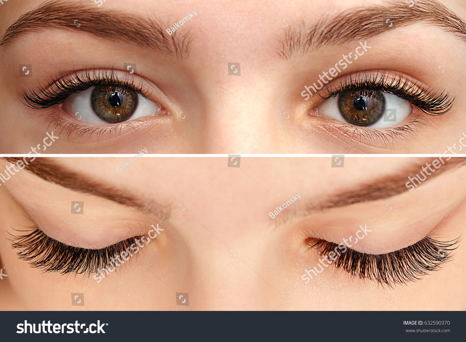Eye Makeup Beautiful Eyes Makeup Holiday Stock Photo Edit Now