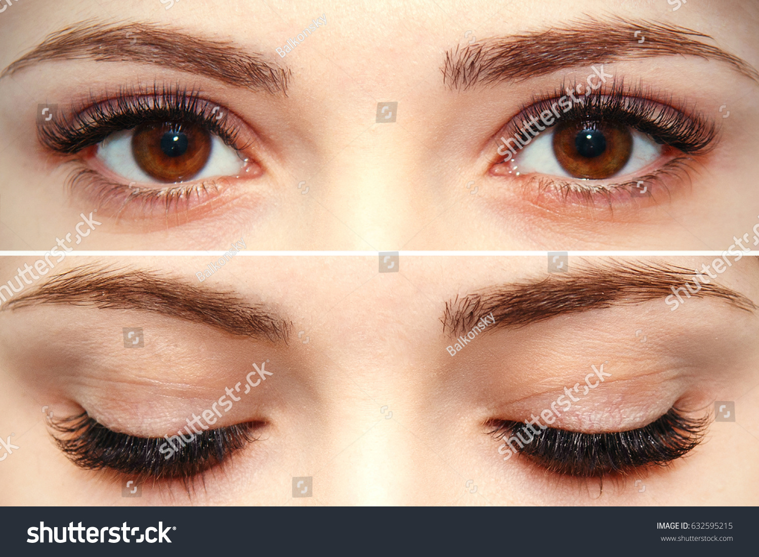 Eye Makeup Beautiful Eyes Makeup Holiday Stockfoto Jetzt Bearbeiten