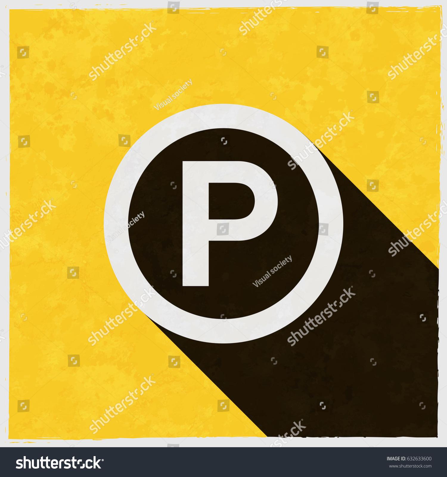 P Sound Recording Copyright Symbol On Stock Vector Royalty Free