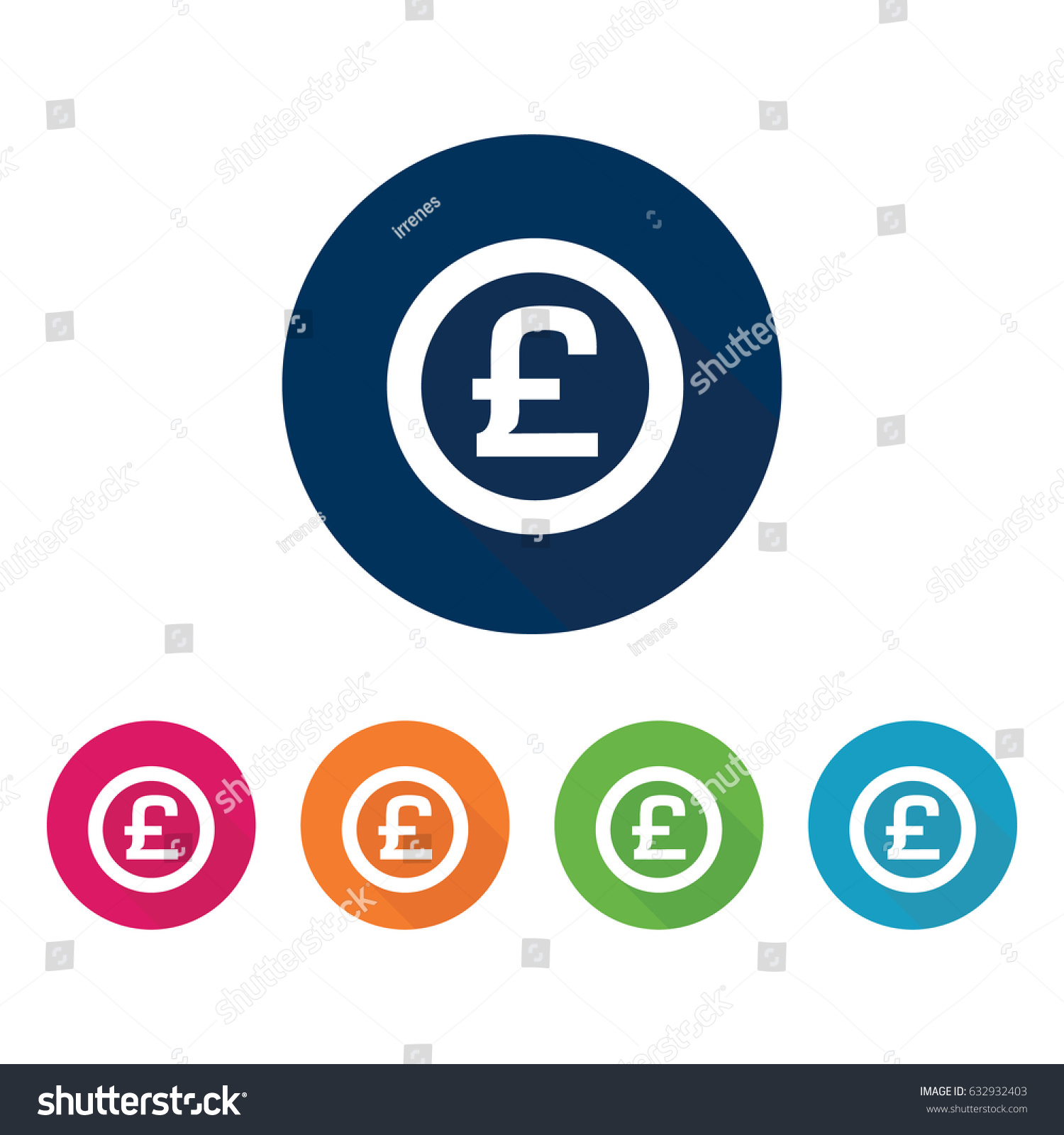 British pound sterling symbol stock vector 632932403 shutterstock british pound sterling symbol biocorpaavc Gallery