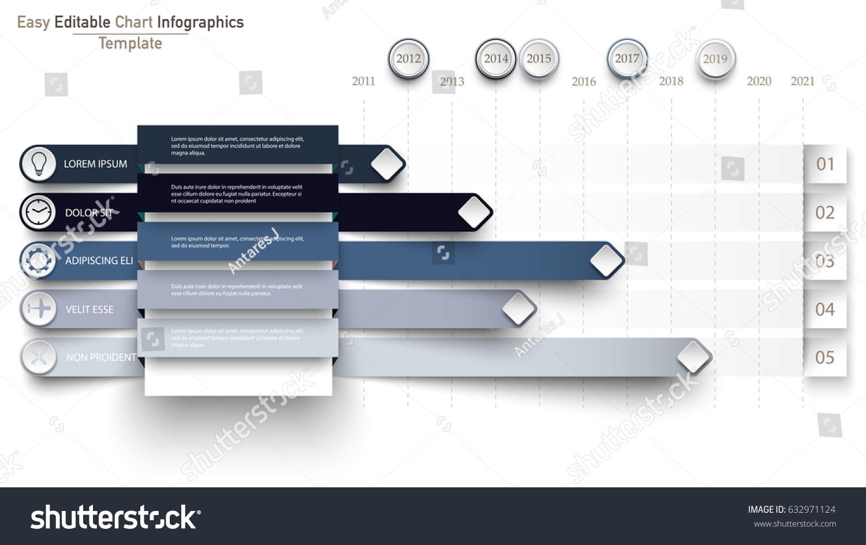 Business flat pie chart timeline origami stock vector 632971124 business flat pie chart timeline origami paper style horizontal lines nvjuhfo Choice Image