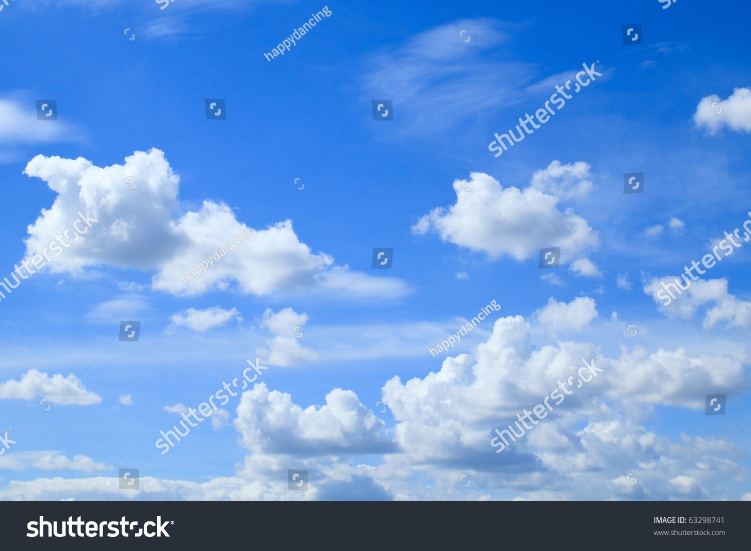 clouds clear blue sky stock photo 63298741 shutterstock