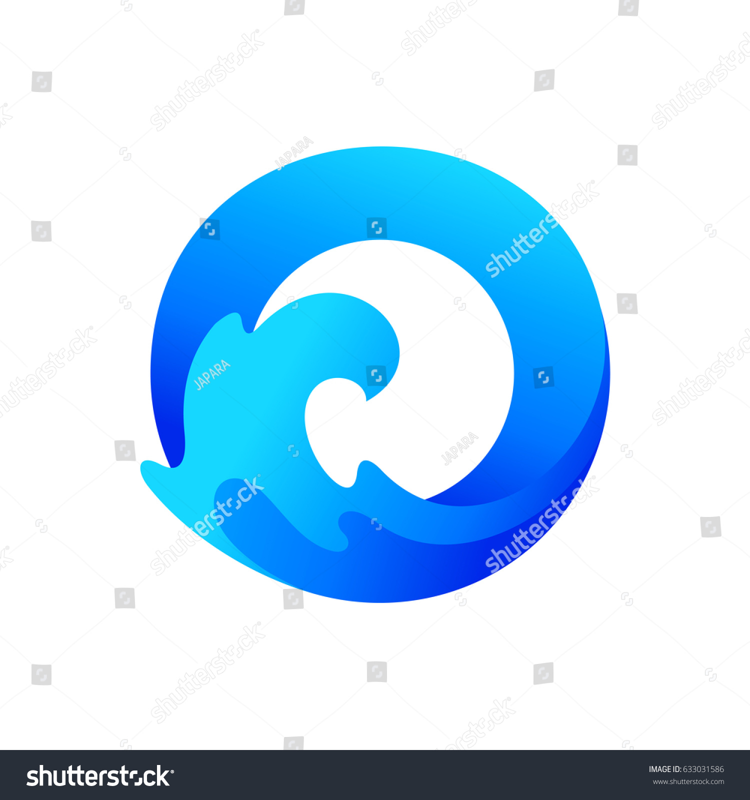 Letter o ocean logo stock vector 633031586 shutterstock letter o for ocean logo biocorpaavc Gallery