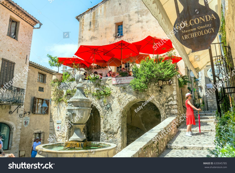 Saint Paul De Vence Art st paul de vence france june stock photo (edit now) 633045785