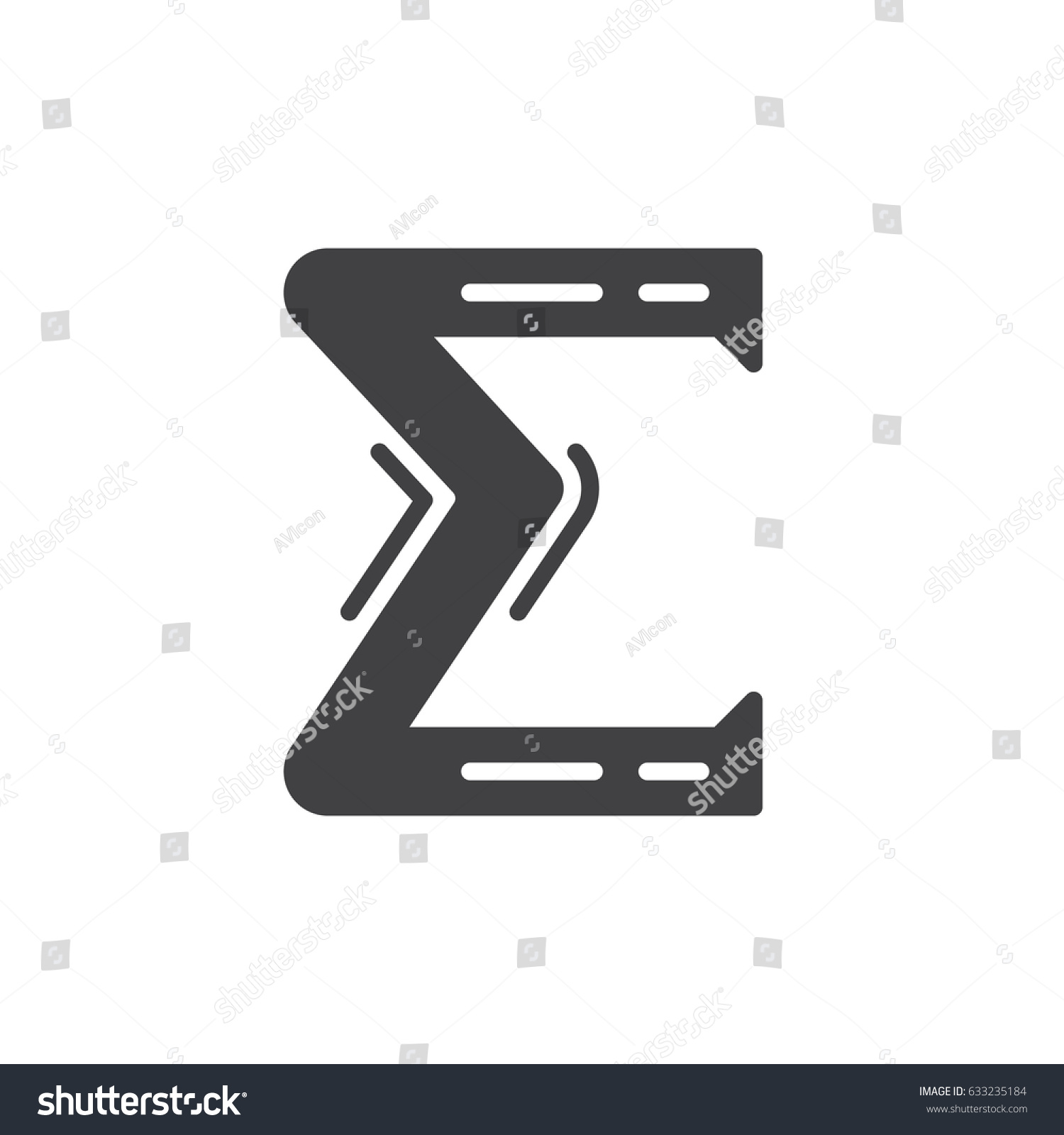 Greek letter sigma icon vector filled stock vector 633235184 greek letter sigma icon vector filled flat sign glyph style pictogram isolated on white biocorpaavc Choice Image