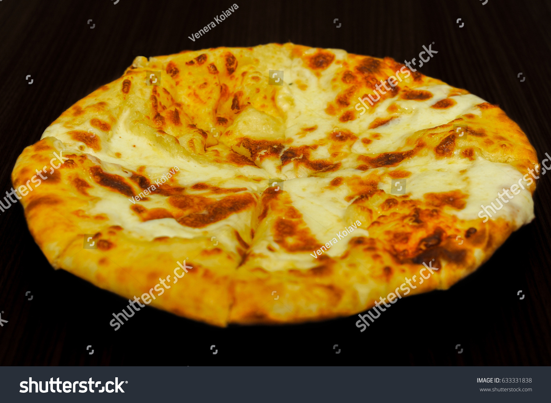 Delicious Mengrelian Megruli Khachapuri Isolated On Stock Photo Edit Now 633331838