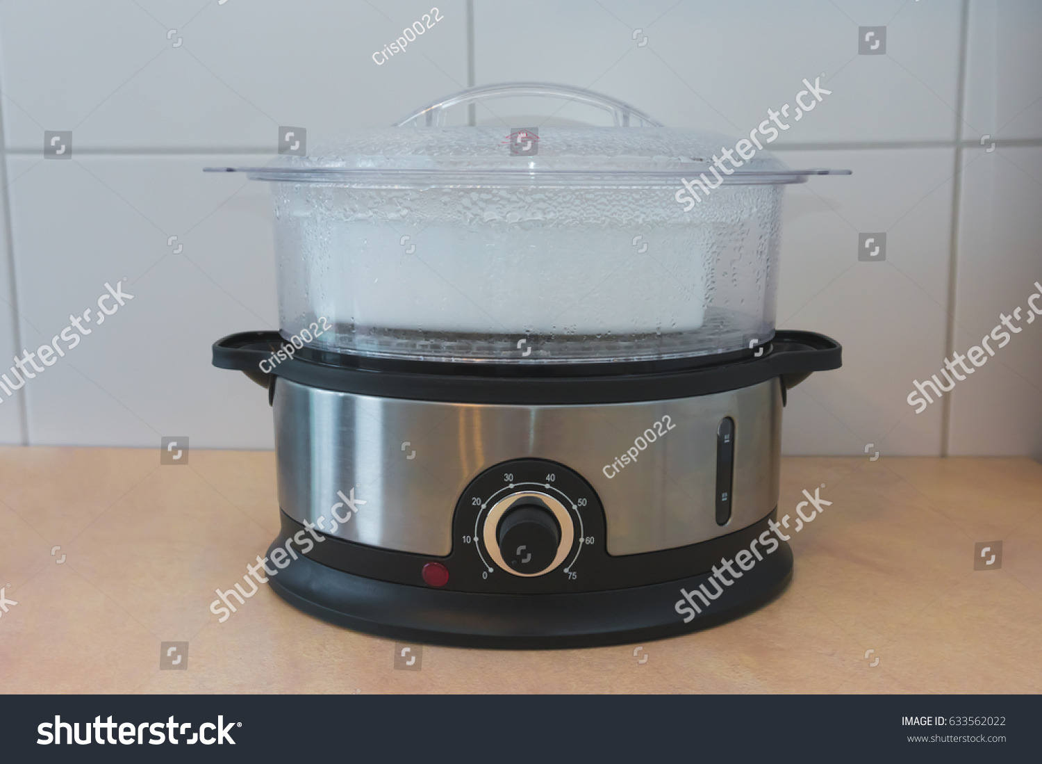 Homemade Steamer Healthy Food Stock Photo (Royalty Free) 633562022 ...