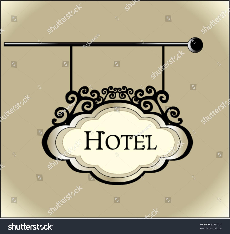 Vintage Hotel Sign 43