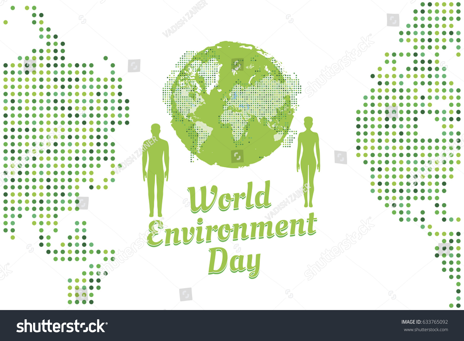 Banner world environment day peoples world stock vector 633765092 banner world environment day with peoples and world map flat vector illustration eps 10 gumiabroncs Images