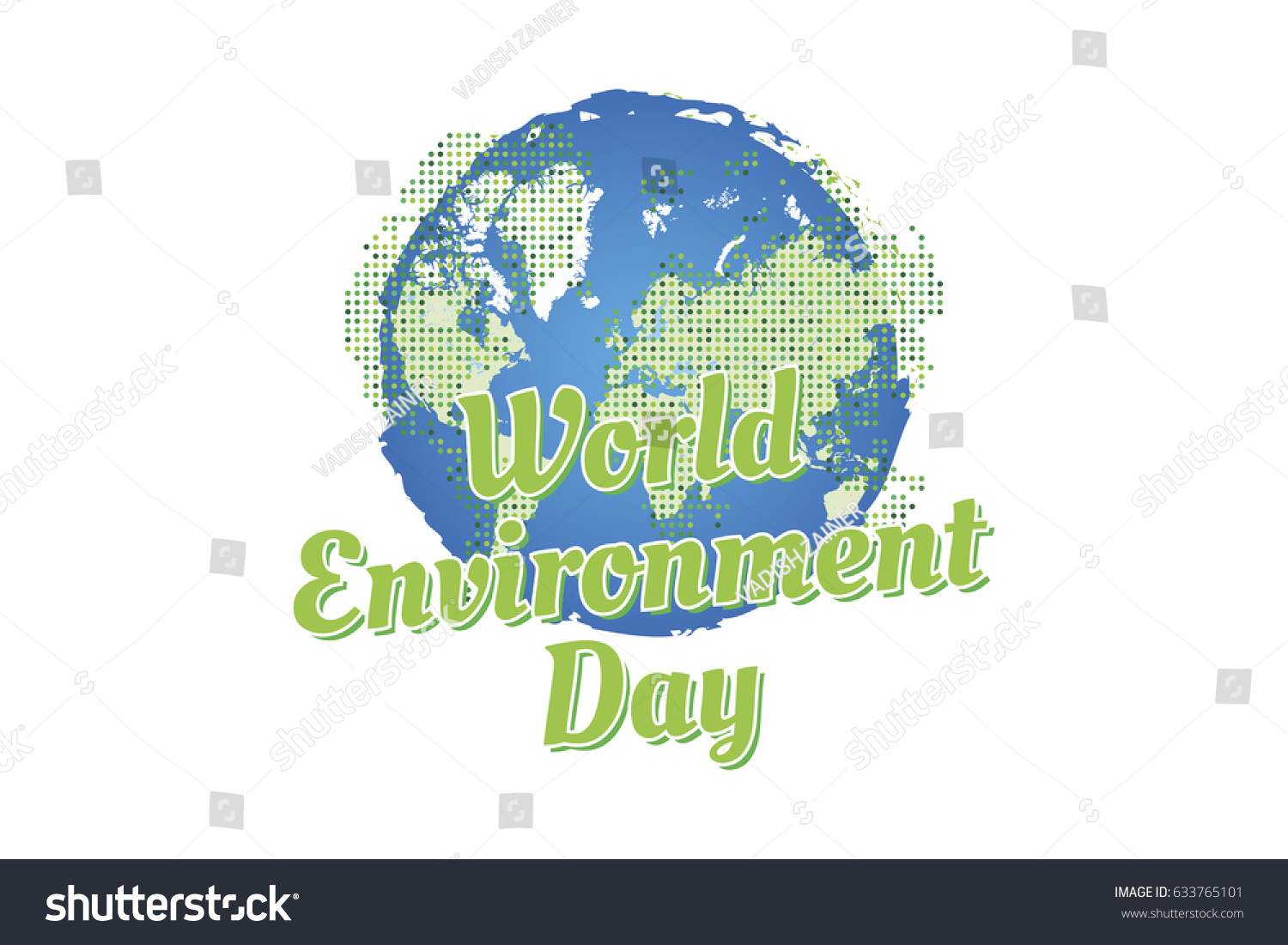 Banner world environment day world map stock vector 633765101 banner world environment day with world map flat vector illustration eps 10 gumiabroncs Images