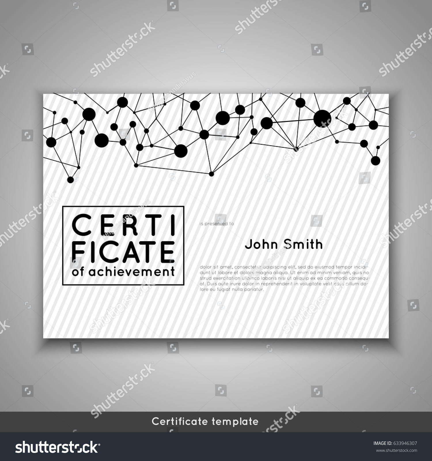 graduation certificate of appreciation