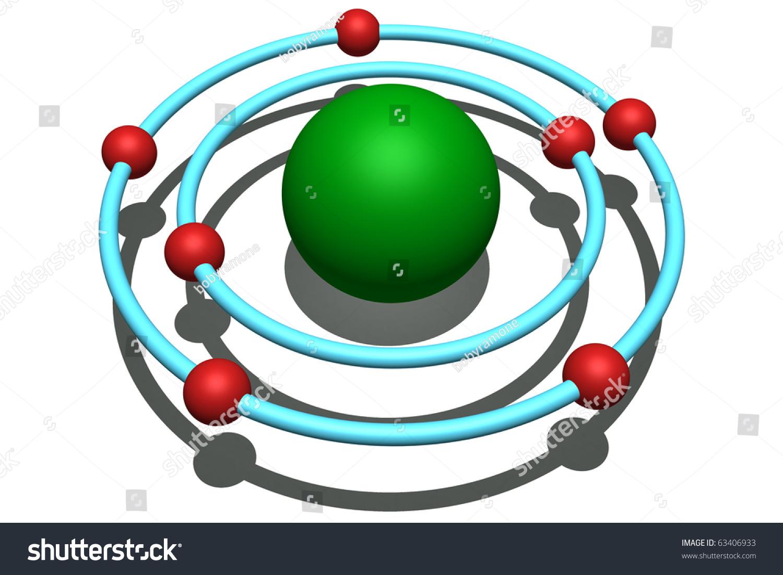 Nitrogen Atom Stock Illustration 63406933 - Shutterstock