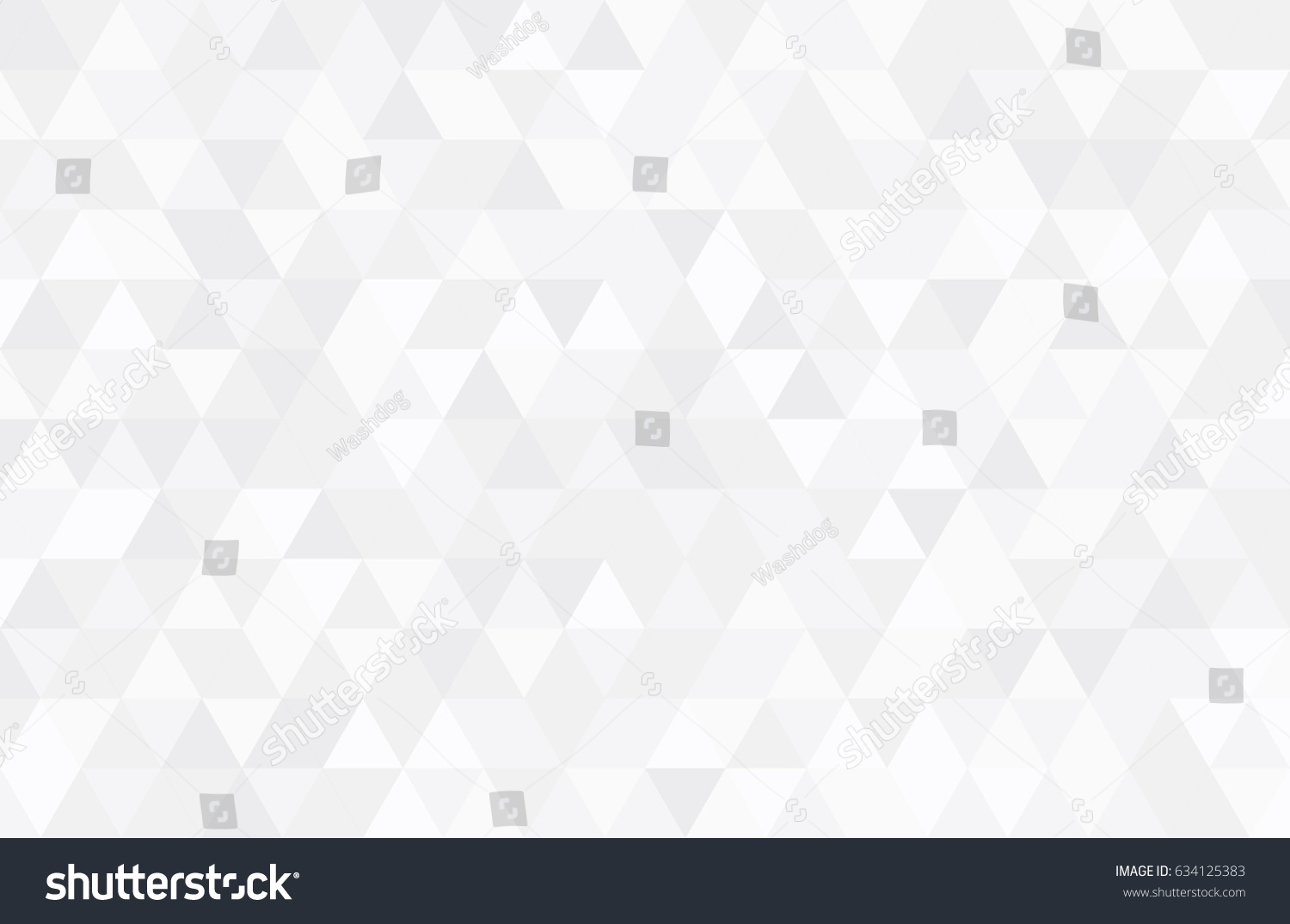Abstract retro pattern of geometric shapes. Colorful gradient mosaic backdrop. Geometric hipster triangular background, vector #634125383