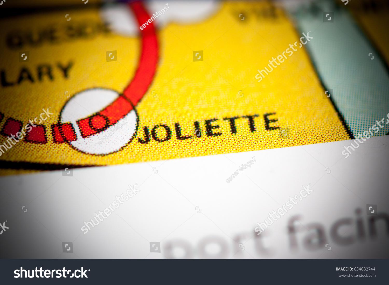 Joliette Station Marseille Metro Map Stock Photo 634682744