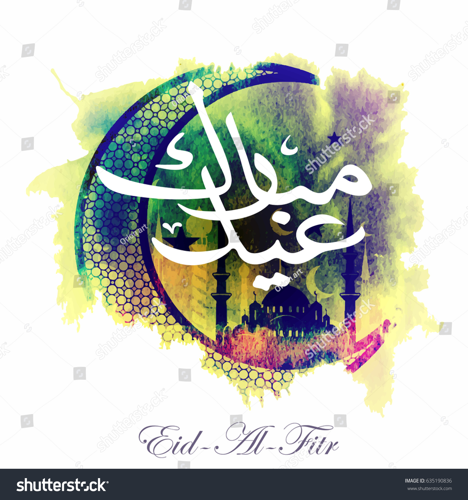 Download Idd Eid Al-Fitr Feast - stock-vector-calligraphy-of-arabic-text-eid-al-fitr-feast-of-breaking-the-fast-holiday-greeting-card-in-635190836  Collection_621918 .jpg