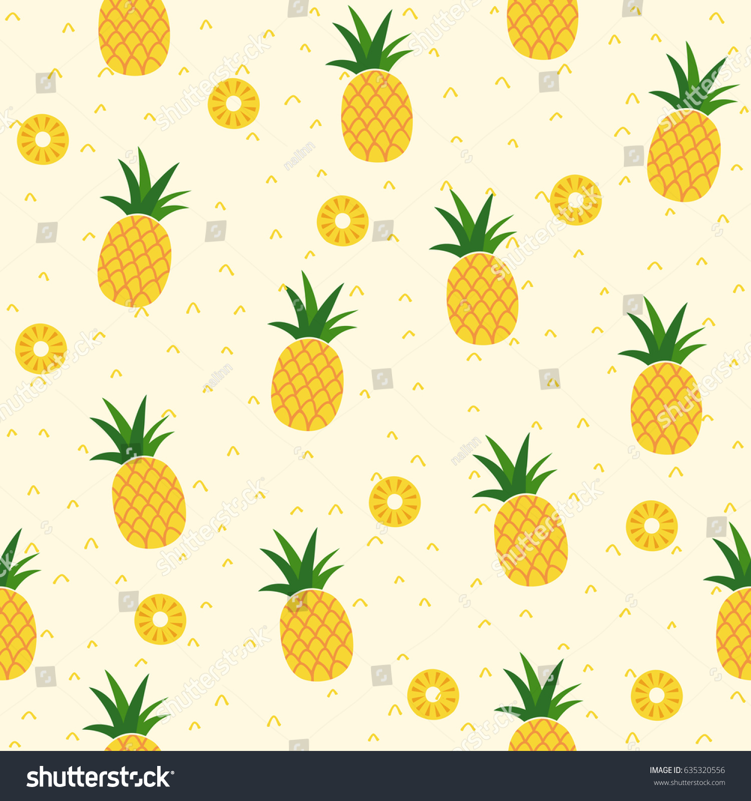 Most Inspiring Wallpaper Macbook Pineapple - stock-vector-seamless-pineapple-pattern-for-textile-fabric-or-wallpaper-backgrounds-635320556  You Should Have_419387.jpg