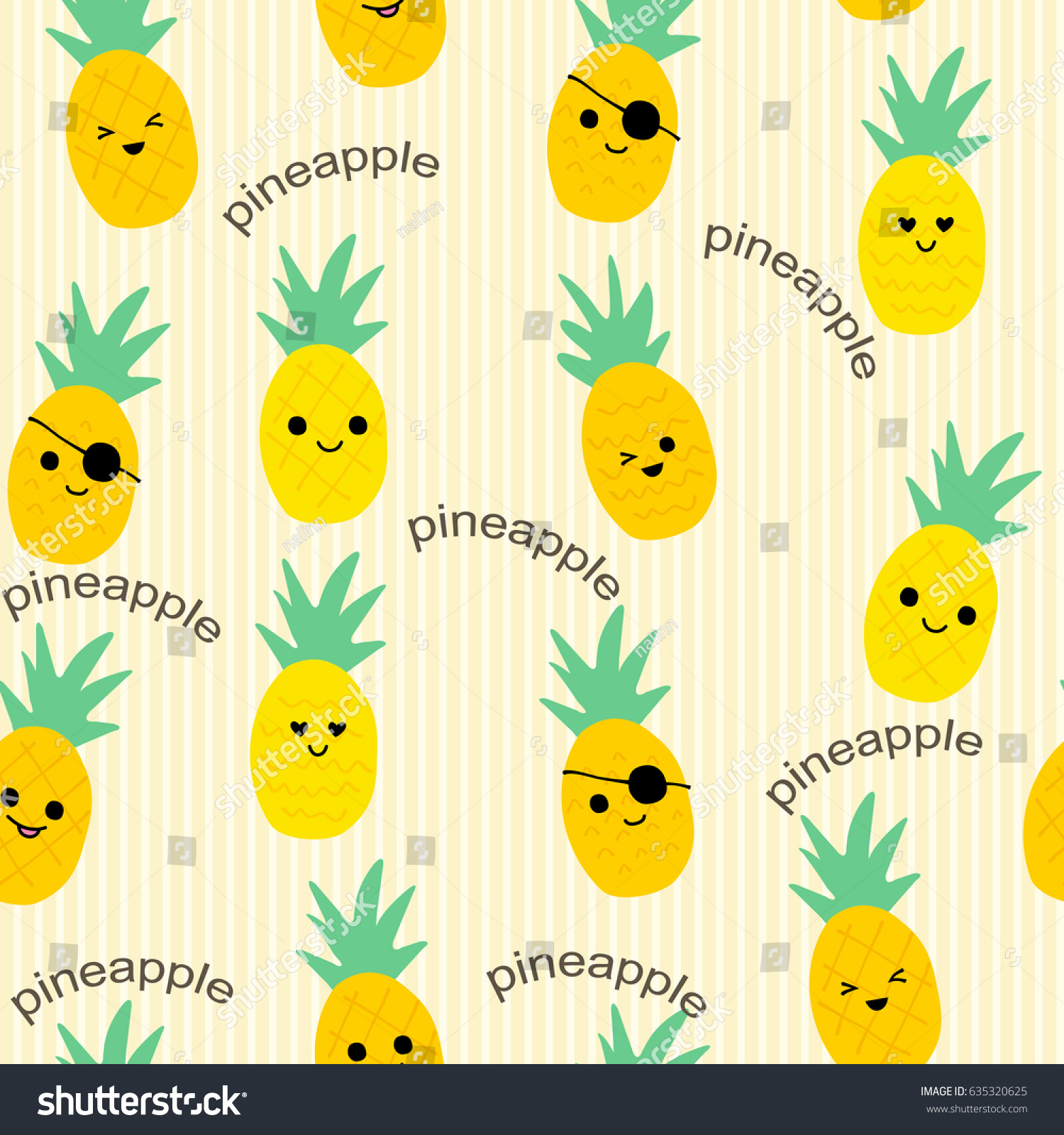 Best Wallpaper Macbook Pineapple - stock-vector-seamless-pineapple-pattern-for-textile-fabric-or-wallpaper-backgrounds-635320625  2018_782213.jpg