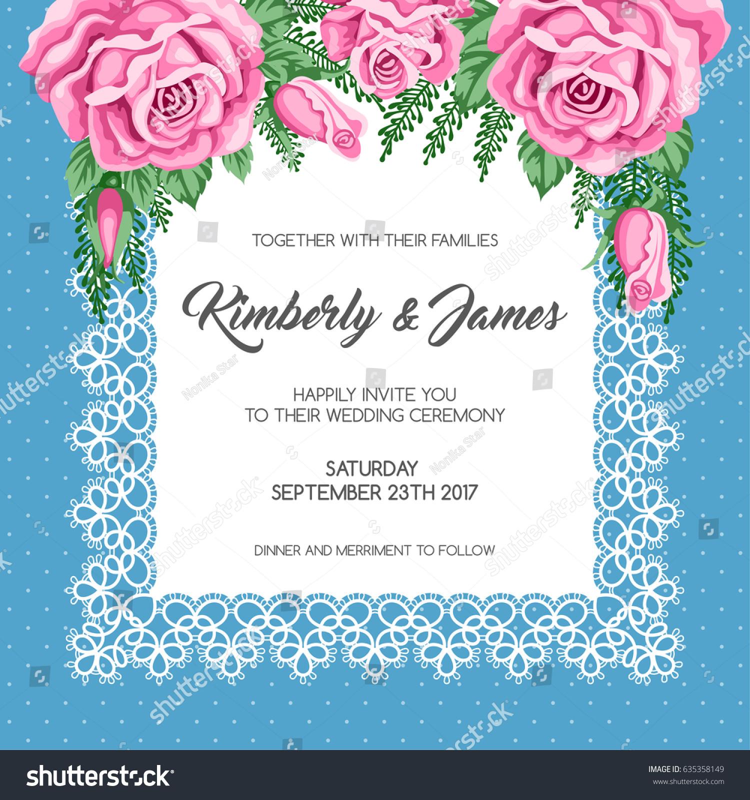 30 Unique Wedding Invitation Template Floral Pics Wedding