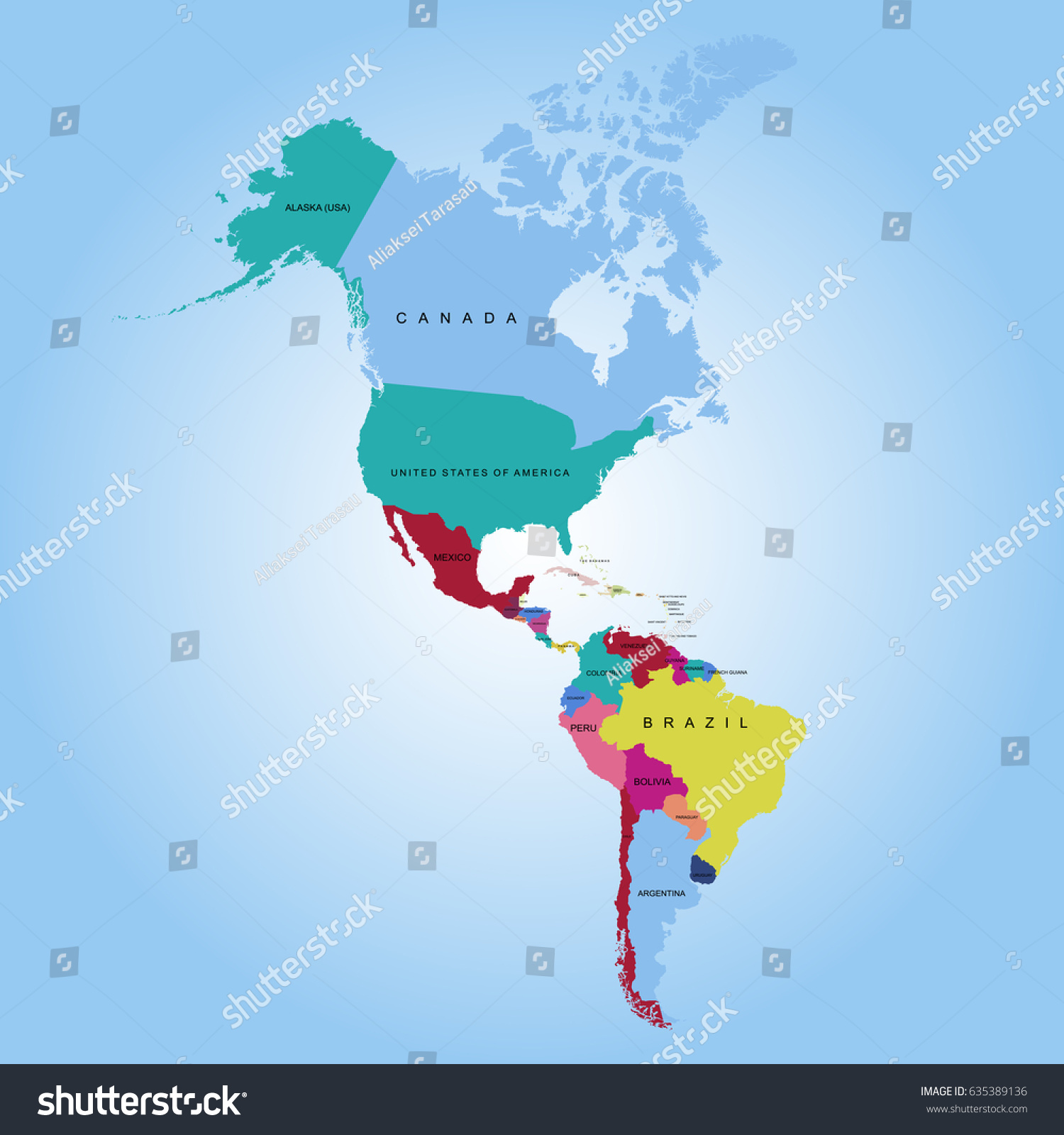 Map American Continent Vector On Map Images Lets Explore All - Argentina map continent