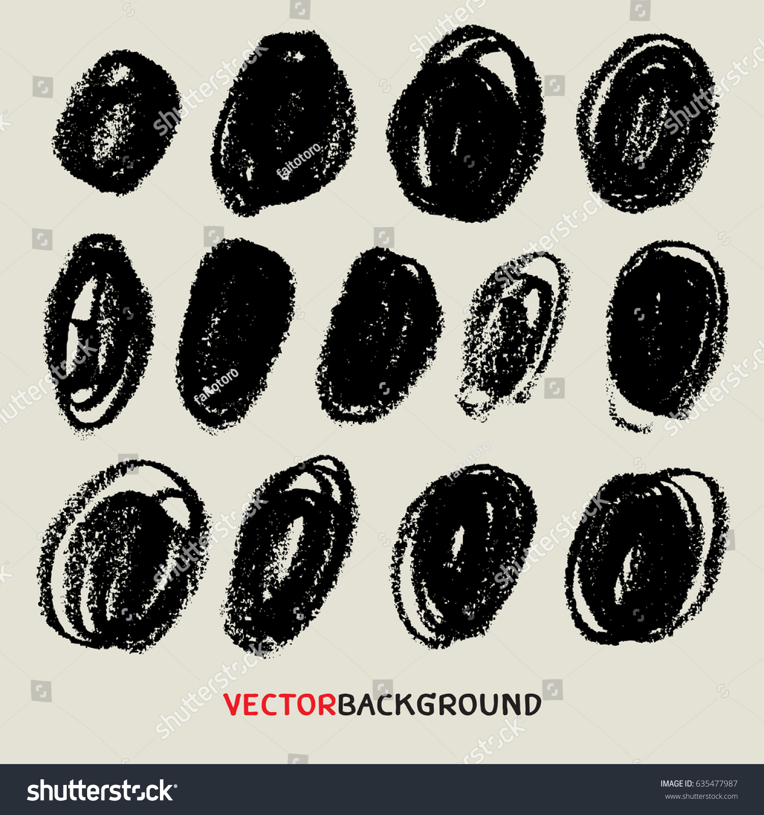 Chalk Texture Background Templatecrayon Doodle Sketch Stock Photo ...