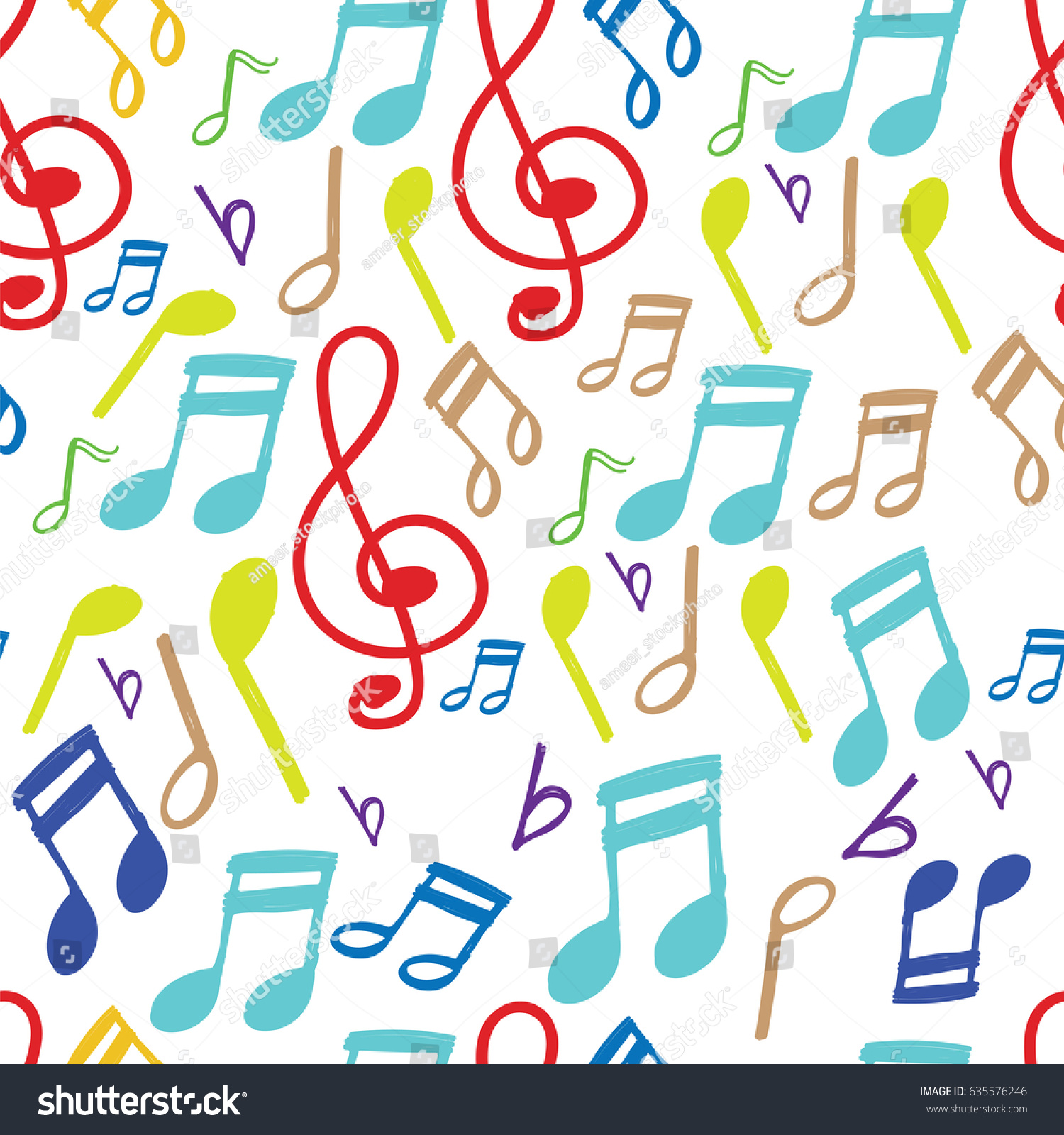 Music Note Pattern Best Inspiration