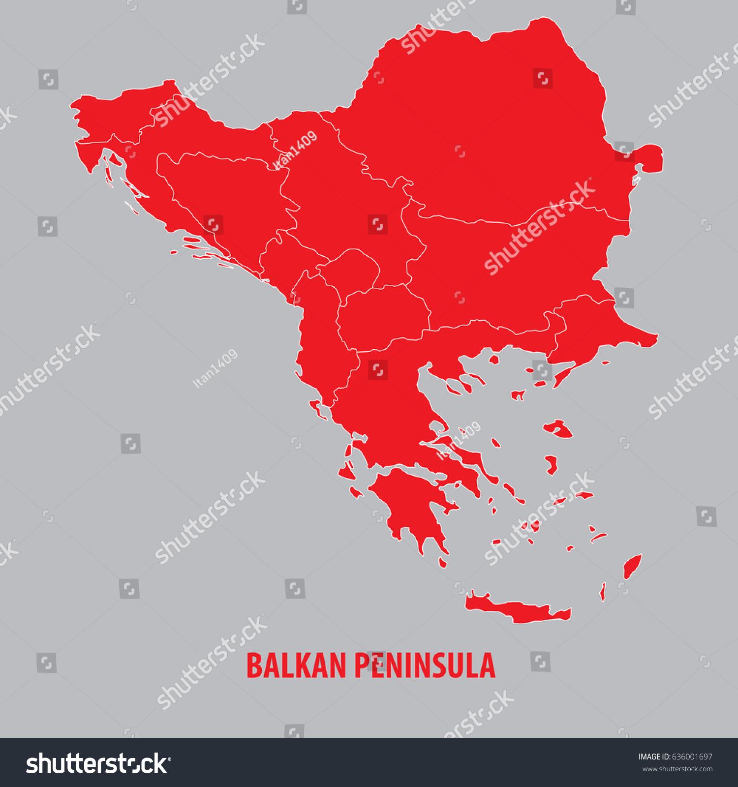 Popular 195 List balkan peninsula map