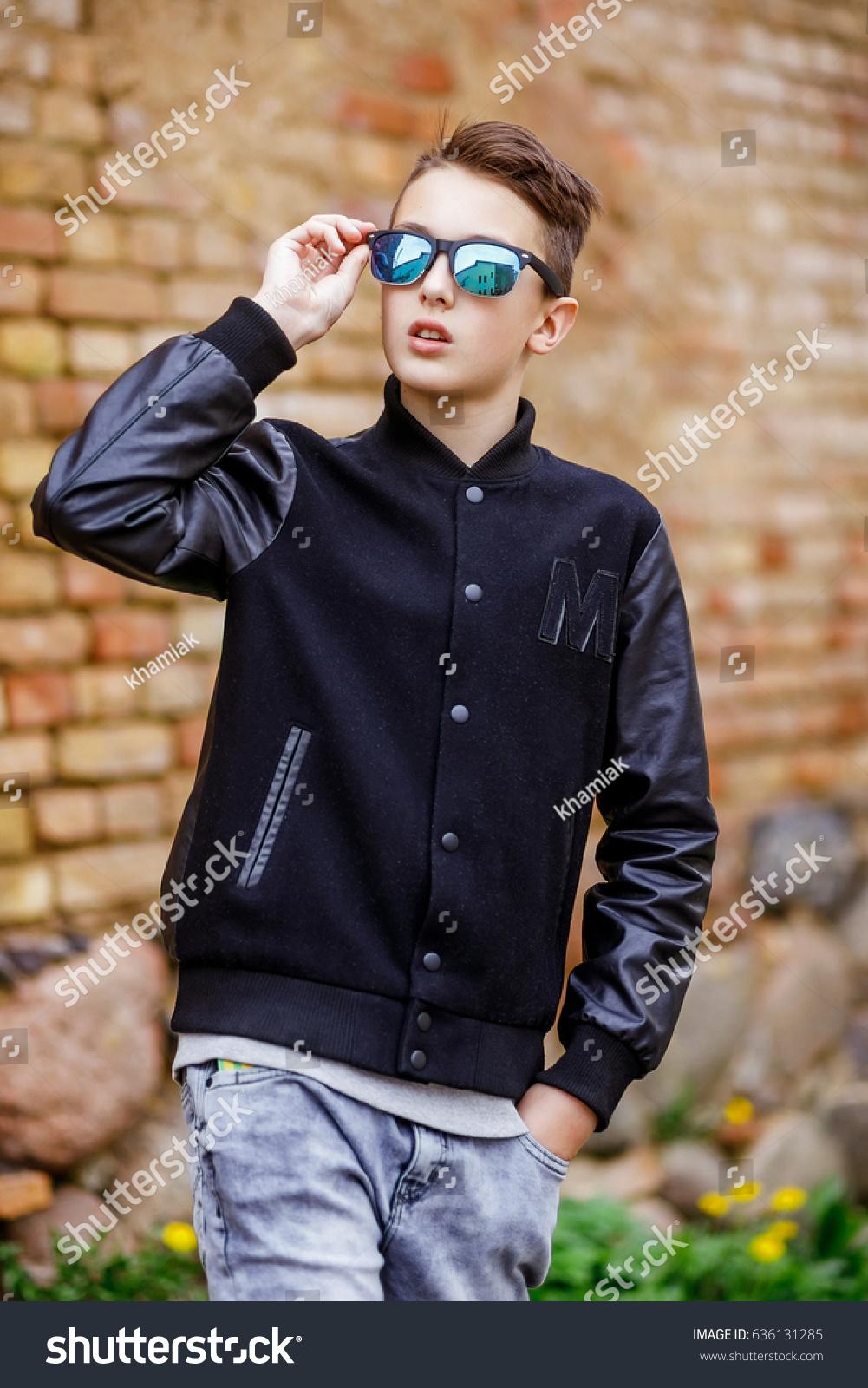 Teen walking around