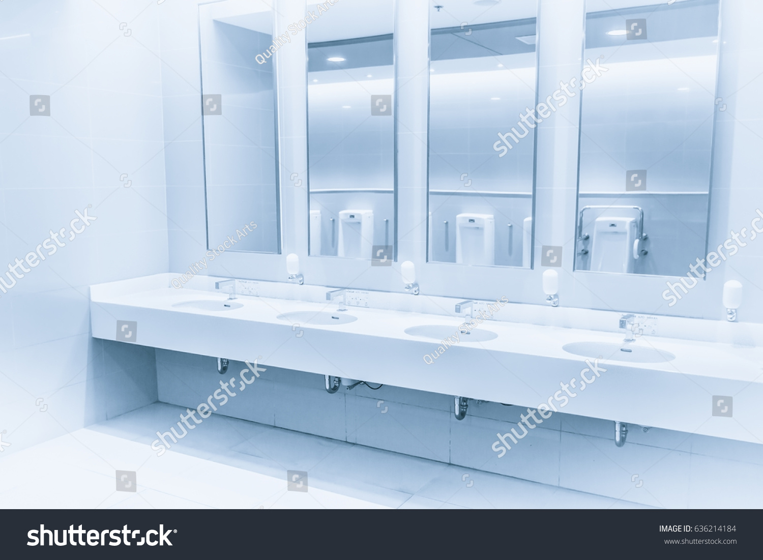 Clean New Modern Interior Toilet Sink Stock Photo (Download Now ...