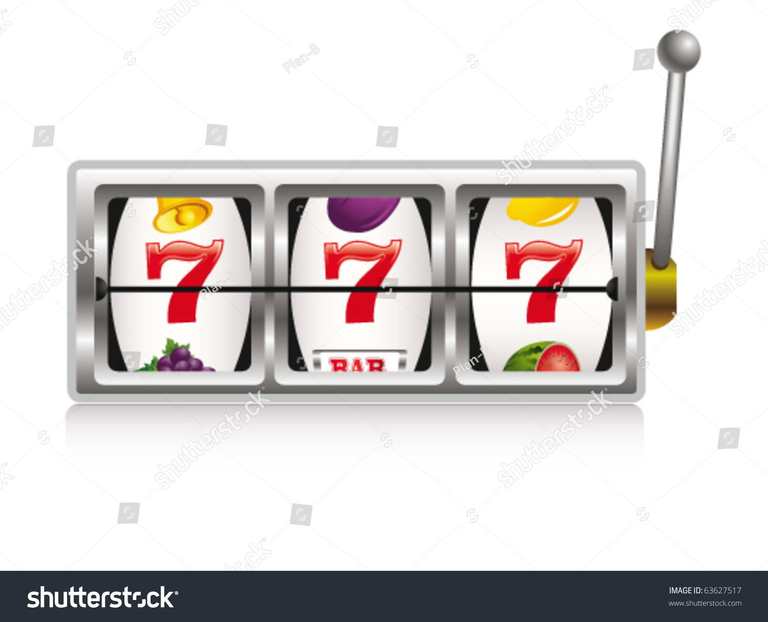slot machine free vector