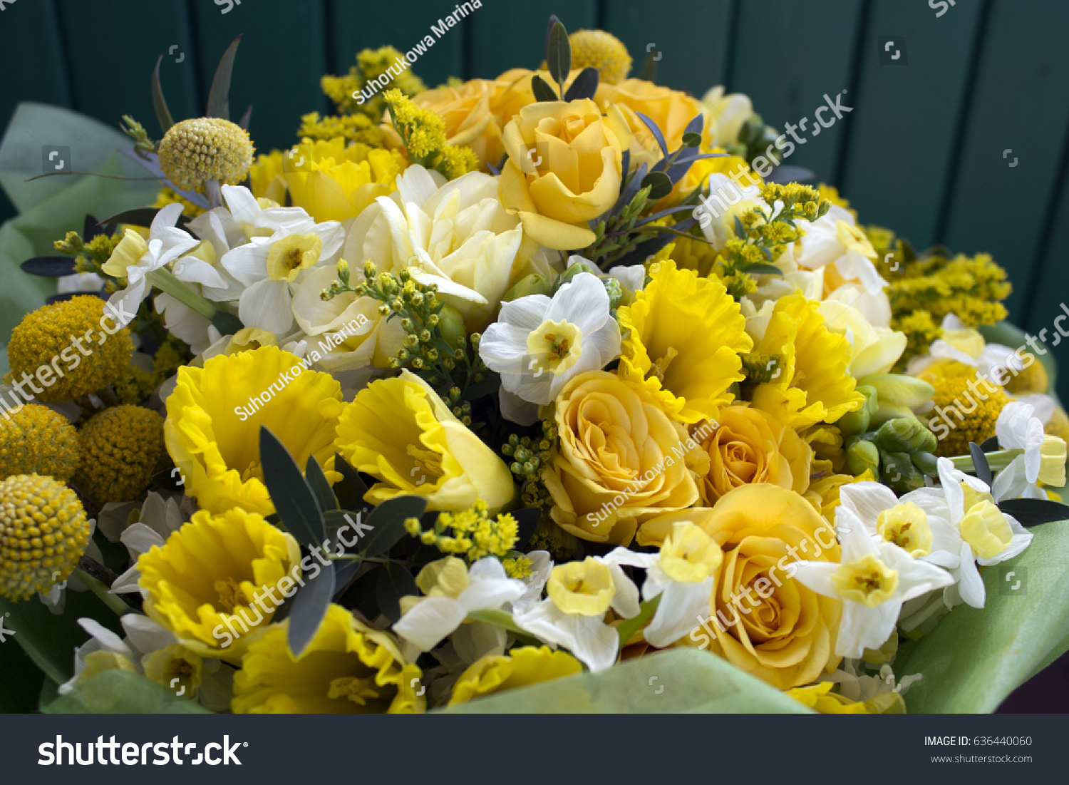 Bunch yellow flowers photo stock photo 100 legal protection bunch of yellow flowers photo mightylinksfo