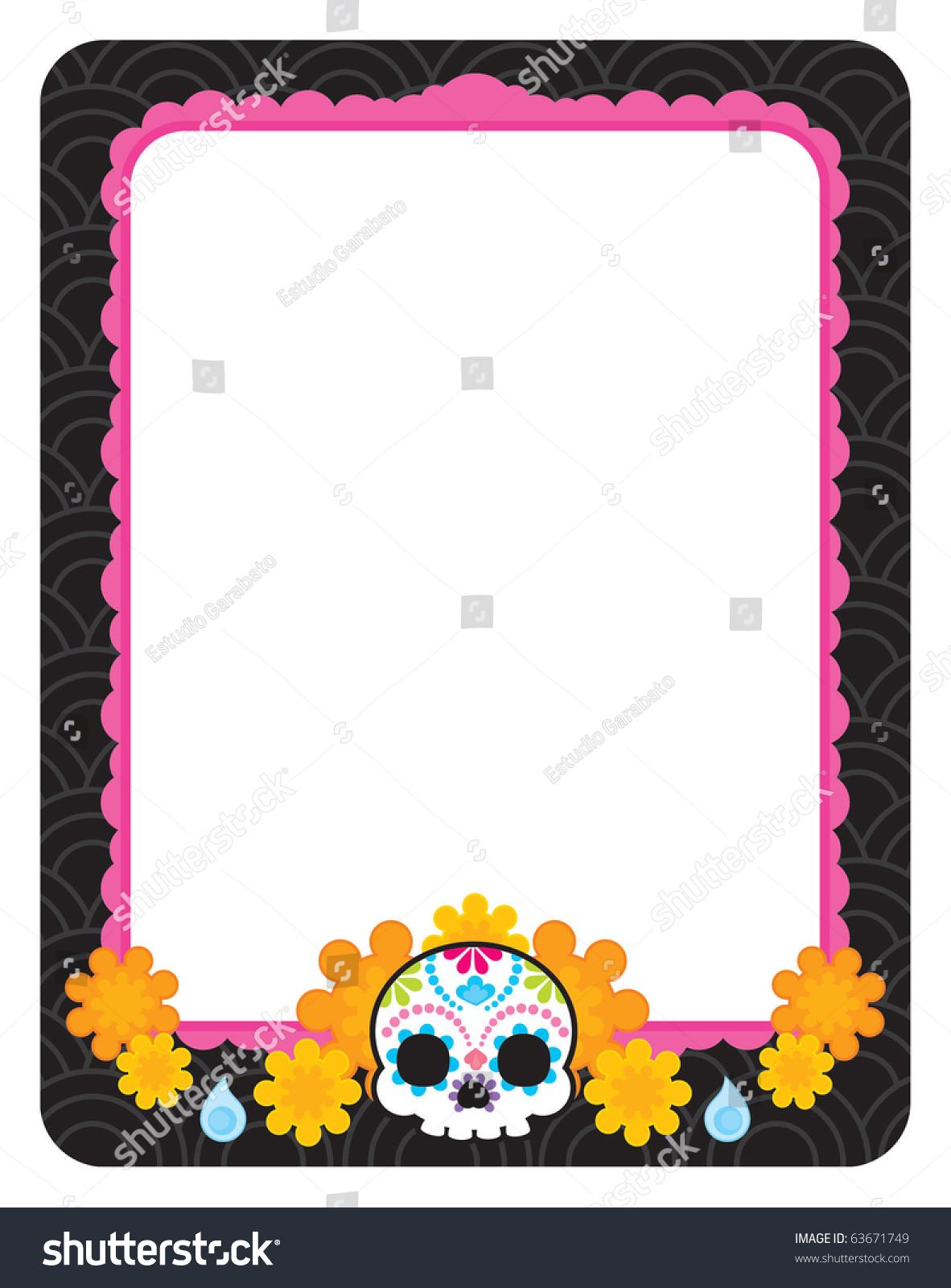 Sugar Skull Day Death Cool Vector Stock Vector (Royalty Free ...